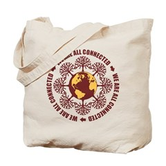 All Connected Tote Bag