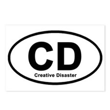 Creative Disaster Postcards (Package of 8)