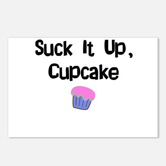 Suck it Up CupCake Postcards (Package of 8)