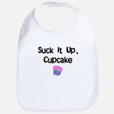 Suck it Up CupCake Bib