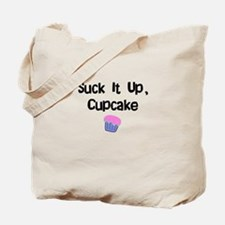 Suck it Up CupCake Tote Bag