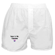 Suck it Up CupCake Boxer Shorts
