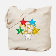 Eastern Star Circle of Stars Tote Bag