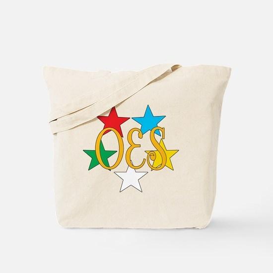 Eastern Star Circle of Stars Tote Bag