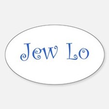 Jew Lo Oval Decal