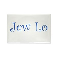 Jew Lo Rectangle Magnet (100 pack)