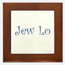 Jew Lo Framed Tile