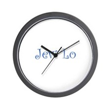 Jew Lo Wall Clock