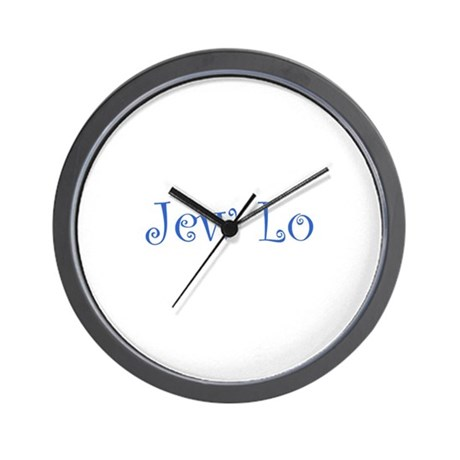Jew Lo Wall Clock