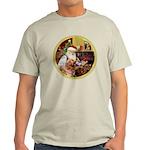 Santa at home with Syenna Light T-Shirt