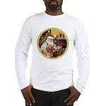 Santa at home with Syenna Long Sleeve T-Shirt