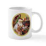 Santa at home with Syenna Mug