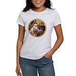 Santa at home with Syenna Women's T-Shirt