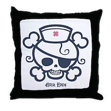 Polly Arr Enn! Throw Pillow