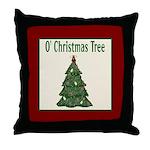 O Christmas Tree Throw Pillow