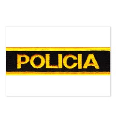 Policia Postcards (Package of 8)