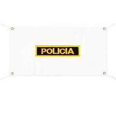 Policia Banner