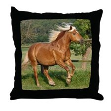 Haflinger Throw Pillow