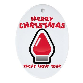 Tacky Light Tour Oval Ornament