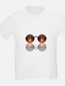 Imagine Rose Colored Glasses T-Shirt