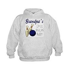 Grandpa's Bowling Buddy Hoodie
