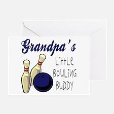 Grandpa's Bowling Buddy Greeting Card