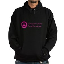Imagine Peace Sign Hoodie