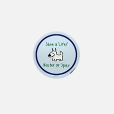 Save a Life Mini Button
