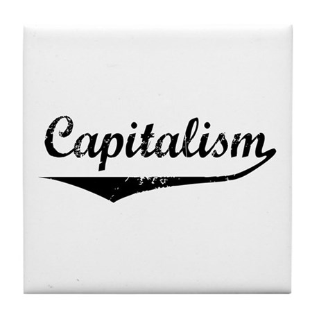Capitalism Tile Coaster