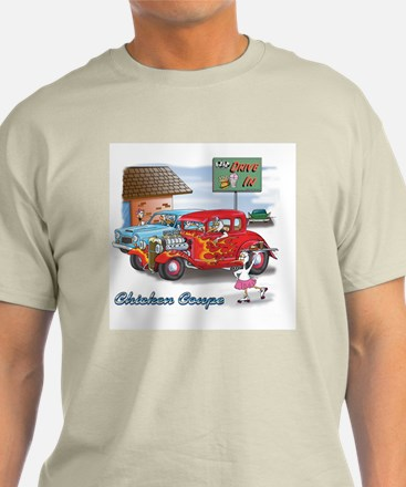 Chicken Coupe Ash Grey T-Shirt
