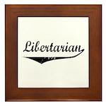 Libertarian Framed Tile