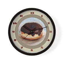 Donut Wall Clock (Choclate Icing)