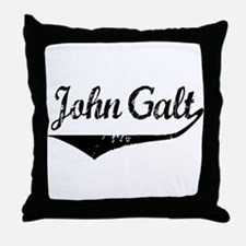 John Galt Throw Pillow