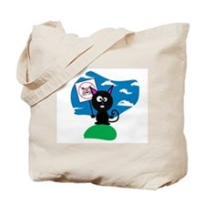 No Dogs Allowed! Tote Bag