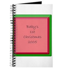 BABY'S 1ST CHRISTMAS 2005 Journal