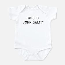 Who is John Galt? Infant Bodysuit