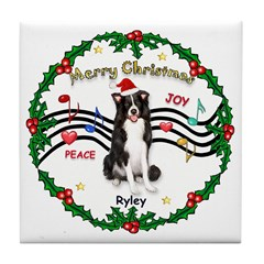 XmasMusic 1MC & Ryley Tile Coaster