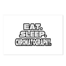 """Eat. Sleep. Chromatography."" Postcards (Package o"