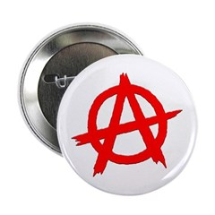 Anarchy Symbol Red 2.25