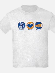 Peace Love Cheer BlOr T-Shirt