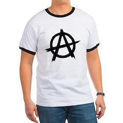 Anarchy Symbol BW T