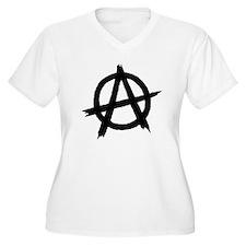 Anarchy Symbol BW T-Shirt