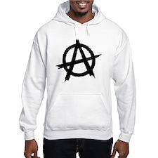 Anarchy Symbol BW Jumper Hoody