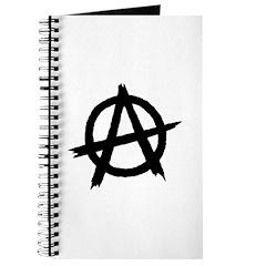 Anarchy Symbol BW Journal