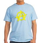 Anarchy Symbol Yellow Light T-Shirt