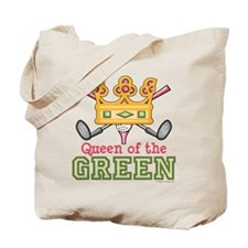 Queen of the Green Golf Tote Bag