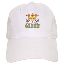 Queen of the Green Golf Baseball Cap