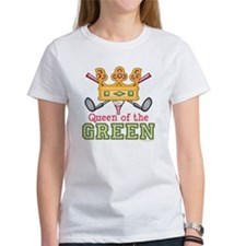 Queen of the Green Golf Tee