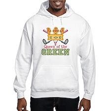 Queen of the Green Golf Hoodie
