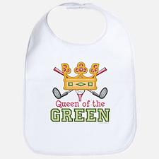 Queen of the Green Golf Bib